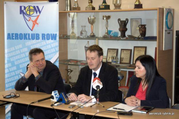 Konferencja w siedzibie Aeroklubu