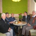 W lotniczym gronie - Prezes KSL A. Porembski, J. Pietrzykowski, R. Kopernok, M. Barski, B. Krupa