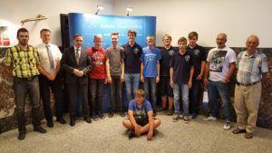 Wizyta w Urzędzie Miasta i spotkanie z Prezydentem panem Piotrem Kuczerą
